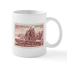 Lewis & Clark 3 Cent Stamp Mug