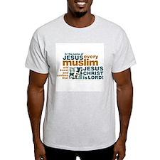 Every muslim will kneel. T-Shirt