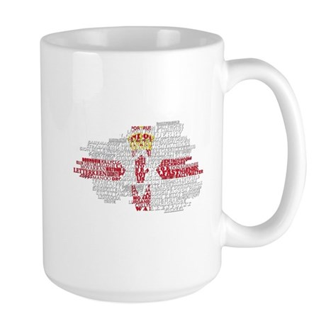 Country Outline Mugs