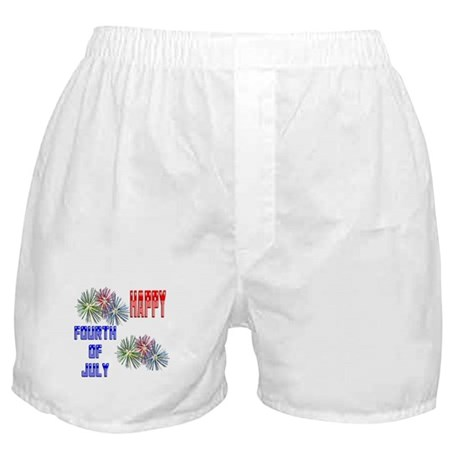 July 4th Fireworks Boxer Shorts