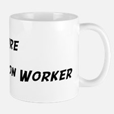 Future Construction Worker Mug