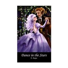 Dance in the Stars Rectangle Decal