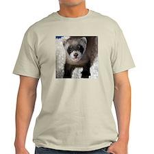 Black-footed Ferret Light T-Shirt