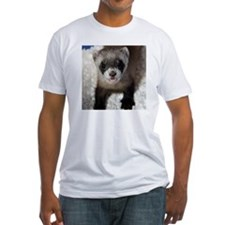 Black-footed Ferret Fitted T-Shirt