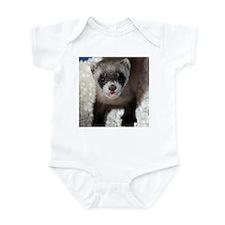 Black-footed Ferret Infant Bodysuit