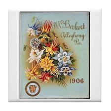 W.C. Beckert Tile Coaster