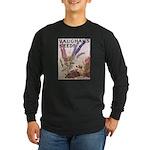Vaughan's Long Sleeve Dark T-Shirt