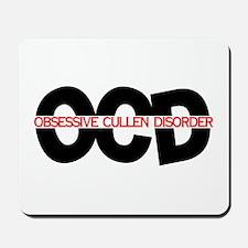 OCD: Obsessive Cullen Disorde Mousepad