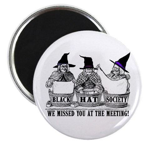 Black Hat Society transparency13 13 LARGEST Magnet