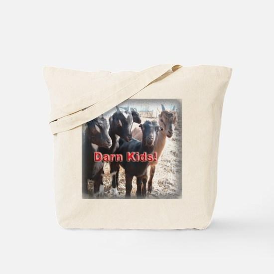 Darn Kids Tote Bag