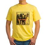 Darn Kids Yellow T-Shirt