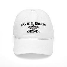 USS WILL ROGERS Baseball Baseball Cap