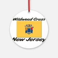 Wildwood Crest New Jersey Ornament (Round)