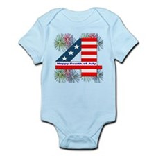 Happy Fourth of July Infant Bodysuit