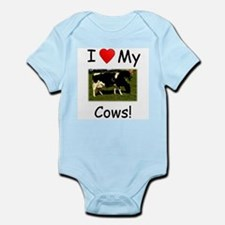 Love My Cows Infant Bodysuit