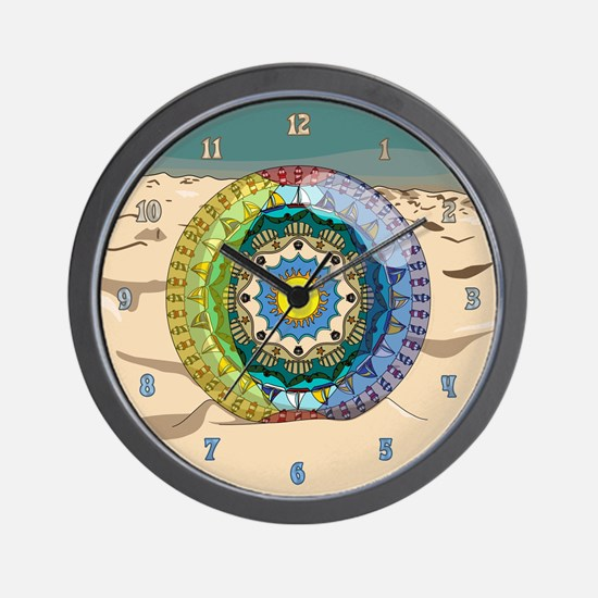 Summer Sunshine Wall Clock