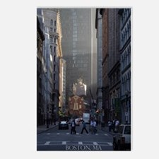 Boston, MA - Postcards (Package of 8)