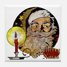 Merry Xmas Tile Coaster