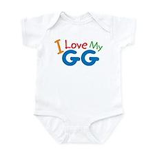 Love Grandmother Infant Bodysuit