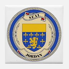 Seal - Jordan Tile Coaster