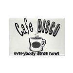 Cafe Disco Rectangle Magnet (10 pack)