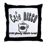 Cafe Disco Throw Pillow