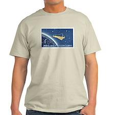 Project Mercury 4-cent Stamp Light T-Shirt