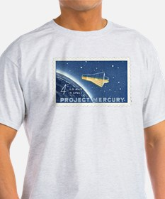 Project Mercury 4-cent Stamp T-Shirt