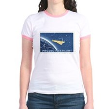 Project Mercury 4-cent Stamp Jr. Ringer T-Shirt
