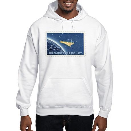 Project Mercury 4-cent Stamp Hooded Sweatshirt