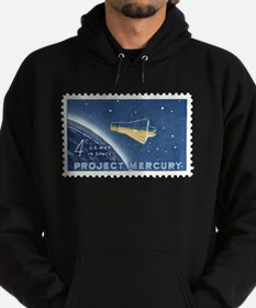 Project Mercury 4-cent Stamp Hoodie (dark)