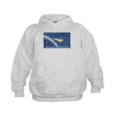 Project Mercury 4-cent Stamp Kids Hoodie