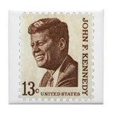 Jfk stamp Drink Coasters