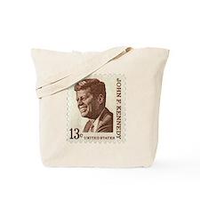 JFK 13 Cent Stamp Tote Bag