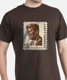 JFK 13 Cent Stamp T-Shirt