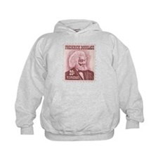 Frederick Douglass 25-cent Stamp Kids Hoodie