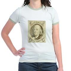 Ben Franklin 5-cent Stamp T