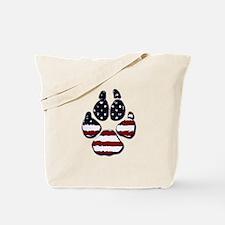 American Dog Tote Bag
