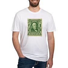 Ben Franklin 1-cent Stamp Shirt