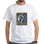 American Indian 14-cent Stamp White T-Shirt