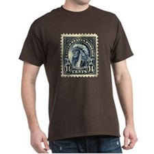 American Indian 14-cent Stamp T-Shirt
