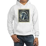 American Indian 14-cent Stamp Hooded Sweatshirt