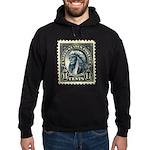 American Indian 14-cent Stamp Hoodie (dark)