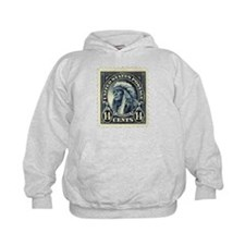 American Indian 14-cent Stamp Hoodie