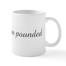 slippery when pounded Mug
