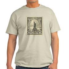 Liberty 15-cent Stamp Light T-Shirt