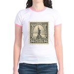 Liberty 15-cent Stamp Jr. Ringer T-Shirt