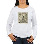 Liberty 15-cent Stamp Women's Long Sleeve T-Shirt