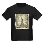 Liberty 15-cent Stamp Kids Dark T-Shirt