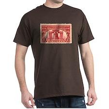 Sesquicentennial 2-cent Stamp Dark T-Shirt